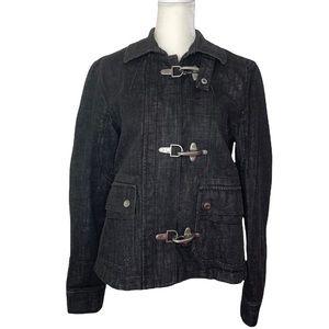 Ralph Lauren Lauren Jeans Co Denim Buckle Jacket